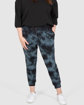 Love Your Wardrobe Carly Tie Dye Joggers