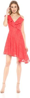 Keepsake The Label Women's Radar Sleeveless Fit & Flare Ruffle Mini Dress