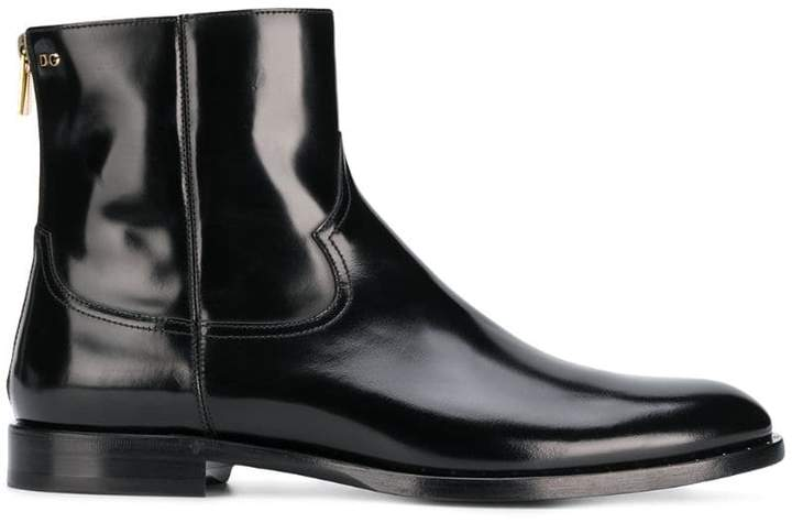Dolce & Gabbana Chelsea ankle boots