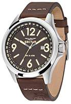 Sector Men's Watch 180 Quartz Analog Leather R3251180009