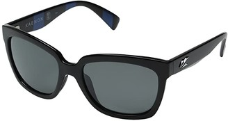 Kaenon Cali (Modern Black/Grey 12 Polarized) Sport Sunglasses