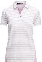 Ralph Lauren Rlx Golf Classic Striped Polo Shirt