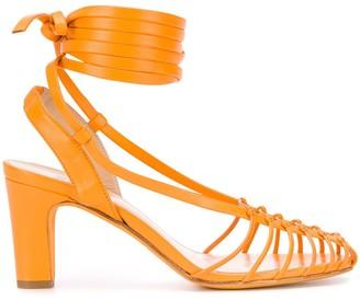 Maryam Nassir Zadeh 75mm strappy Maribel sandals
