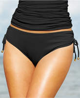 Anne Cole Side-Tie Swim Brief Bottoms