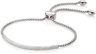 Monica Vinader Fiji Diamond Mini Bar bracelet