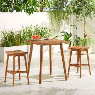 west elm Acadia Outdoor Bar Table & Stools Set