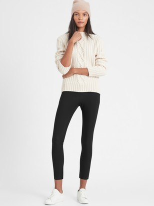 Banana Republic Petite High-Rise Skinny-Fit Packable Performance Pant