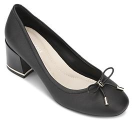 Kenneth Cole Women's Bow Block Heel Pumps