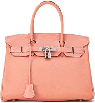 Hermes Birkin 30 Calfskin Satchel Bag