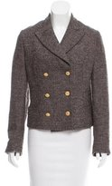 Salvatore Ferragamo Wool Tweed Blazer