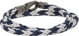 Tod's Men's Leather Wrap Bracelet