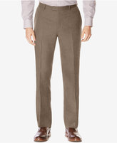 Perry Ellis Men's Big & Tall Subtle Plaid Twill Pants