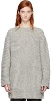 LAUREN MANOOGIAN Grey Fisherman Tunic Sweater