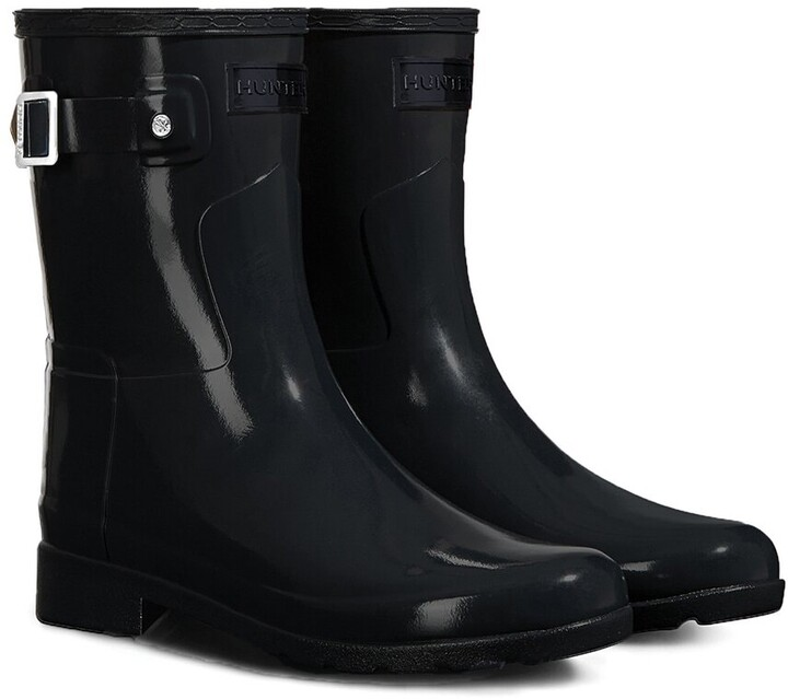 Thumbnail for your product : Hunter Refined Short Gloss Boot