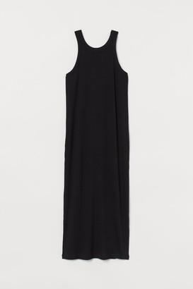 H&M Ribbed Dress - Black