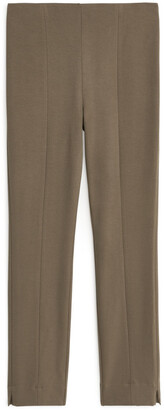Arket Slim-Fit Stretch Trousers