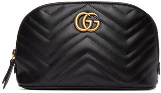 Gucci Black GG Marmont 2.0 Cosmetic Pouch