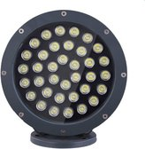 BRILLRAYDO 36W Green LED Outdoor Wall Wash Flood Light Fixture Project Spot Lamp DC 12V
