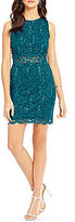 As U Wish Sequin Lace Sheath Dress