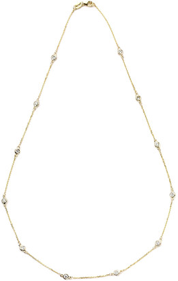 Suzy Levian Diamonds Suzy Levian 14K 0.90 Ct. Tw. Diamond Station Necklace