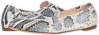 AGL Softy Moccasin (Denim Snakeskin) Women's Shoes