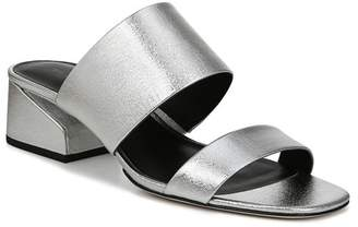 Via Spiga Philipa Metallic Leather Sandal