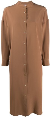 Aspesi Silk Shirt Dress