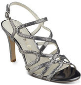 Anne Klein Insists Leather Strappy Sandals