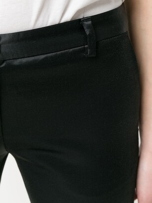 Romeo Gigli Pre Owned Cropped Slim Trousers