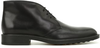 Tod's Desert Lace Up Boots