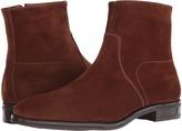 Gravati Size Zip Plain Toe Suede Boot
