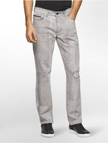 Calvin Klein Slim Straight Pavement Grey Jeans