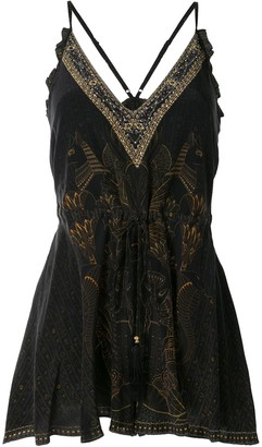 Camilla Cobra King playsuit