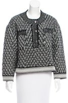 Chanel Wool Cropped Sweater