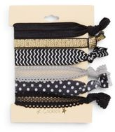 France Luxe Assorted Hair Ties/Set of 6