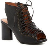 Jeffrey Campbell Covet Lace-Up Heeled Sandal