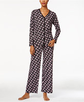 Charter Club Petite Floral-Print Pajama Set, Only at Macy's