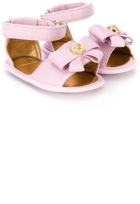 Versace Bow Detail Sandals