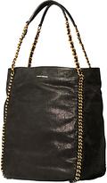 Karen Millen Chain Handle Bucket Bag, Black