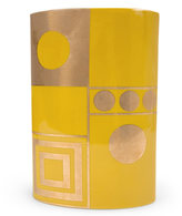 Santorini Althea Golden Eye Vase