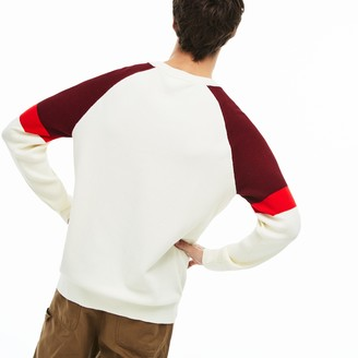 Lacoste Men's Crew Neck Raglan Sleeved Sweater