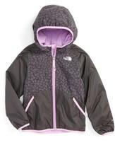 The North Face Toddler Girl's Breezeway Reversible Water Repellent Windbreaker Jacket