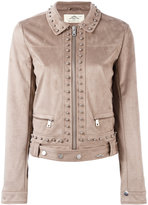 Urban Code Urbancode - studded cropped jacket - women - Polyester - 12
