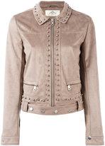 Urban Code Urbancode studded cropped jacket