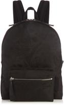 Alexander McQueen Skull-camouflage jacquard backpack