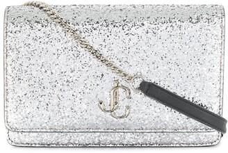 Jimmy Choo Palace glitter crossbody bag