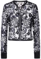Diane von Furstenberg sheer lace jacket