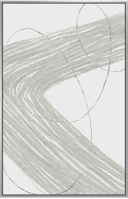 Jonathan Bass Studio Pathways Abstract Ii Silver