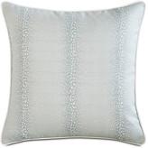 One Kings Lane Evie Mist 20x20 Outdoor Pillow - Light Blue/White