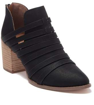 Report Trappy Strappy Ankle Bootie